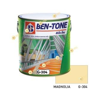 เบนโทน เบเยอร์ G-304 Magnolia สีเคลือบเงา 1gl