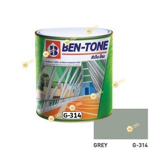 เบนโทน เบเยอร์ G-314 Grey สีเคลือบเงา ¼gl
