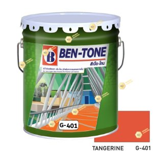 เบนโทน เบเยอร์ G-401 Tangerine สีเคลือบเงา 5gl