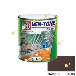 เบนโทน เบเยอร์ G-409 Maroon สีเคลือบเงา ¼gl
