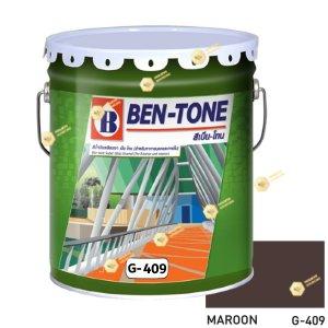 เบนโทน เบเยอร์ G-409 Maroon สีเคลือบเงา 5gl