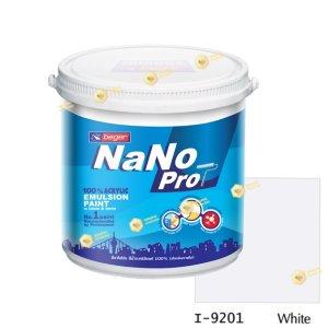 นาโนโปร สีน้ำอะคริลิก I-9201 สีน้ำด้านภายใน-1gl
