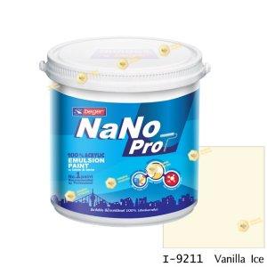 นาโนโปร สีน้ำอะคริลิก I-9211 สีน้ำด้านภายใน-1gl