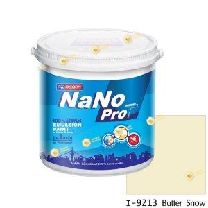 นาโนโปร สีน้ำอะคริลิก I-9213 สีน้ำด้านภายใน-1gl