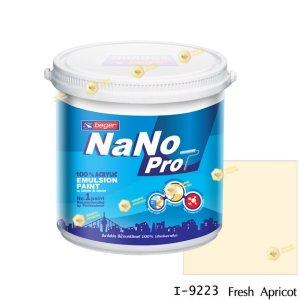 นาโนโปร สีน้ำอะคริลิก I-9223 สีน้ำด้านภายใน-1gl
