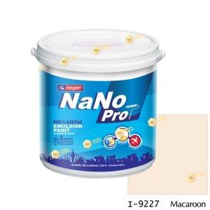 นาโนโปร สีน้ำอะคริลิก I-9227 สีน้ำด้านภายใน-1gl