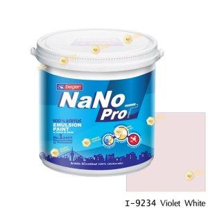 นาโนโปร สีน้ำอะคริลิก I-9234 สีน้ำด้านภายใน-1gl