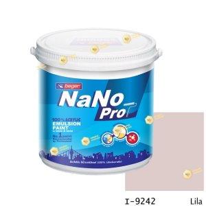 นาโนโปร สีน้ำอะคริลิก I-9242 สีน้ำด้านภายใน-1gl