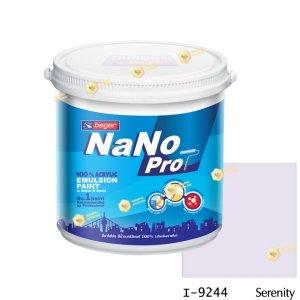 นาโนโปร สีน้ำอะคริลิก I-9244 สีน้ำด้านภายใน-1gl