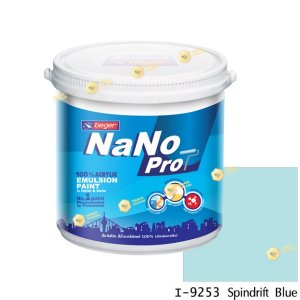 นาโนโปร สีน้ำอะคริลิก I-9253 สีน้ำด้านภายใน-1gl