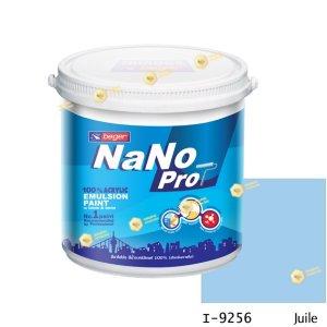 นาโนโปร สีน้ำอะคริลิก I-9256 สีน้ำด้านภายใน-1gl