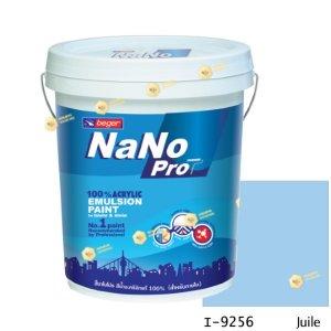 นาโนโปร สีน้ำอะคริลิก I-9256 สีน้ำด้านภายใน-5gl