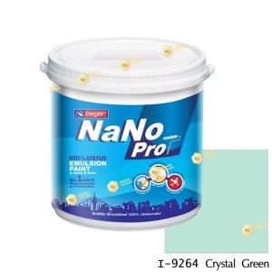 นาโนโปร สีน้ำอะคริลิก I-9264 สีน้ำด้านภายใน-1gl