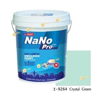 นาโนโปร สีน้ำอะคริลิก I-9264 สีน้ำด้านภายใน-5gl