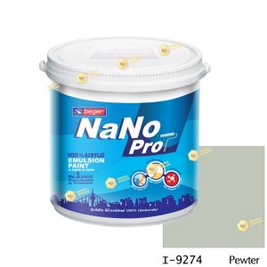 นาโนโปร สีน้ำอะคริลิก I-9274 สีน้ำด้านภายใน-1gl