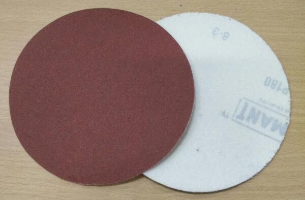 กระดาษทรายกลมหลังสักหลาด 5นิ้ว RKEO 100แผ่น/กล่อง