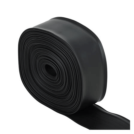 บัวยางเชิงผนัง สีดำ หนา 1.4 มม. ยาว 50 เมตร