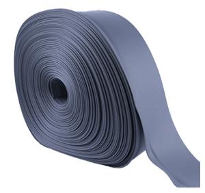 บัวเชิงยางผนังสีเทา หนา 1.4 มม. ยาว 50 เมตร