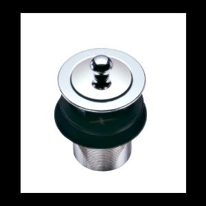 TS611(HM)สะดืออ่างล้างหน้า แบบดึงล็อค Plug & Waste - TOTO