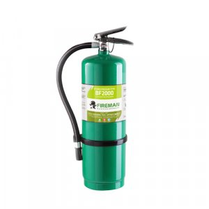 ถังดับเพลิงชนิดน้ำยาเหลวระเหย BF2000 ขนาด 10 ปอนด์ Fireman