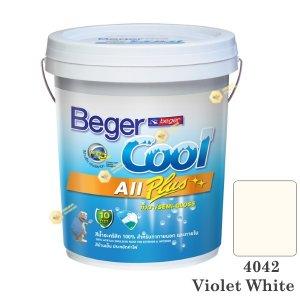 เบเยอร์คูล ออลพลัส 4042 สีน้ำอะคริลิก กึ่งเงาภายนอก-ใน-5gl.