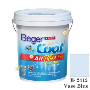 เบเยอร์คูล ออลพลัส สีน้ำ E-2412 สีน้ำอะครีลิกด้าน-ภายนอก-5gl.