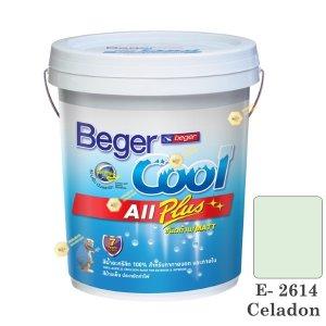 เบเยอร์คูล ออลพลัส สีน้ำ E-2614 สีน้ำอะครีลิกด้าน-ภายนอก-5gl.