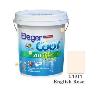 begerCool All Plus I-1211 สีน้ำอะครีลิก-ด้าน ภายใน-5gl.