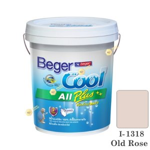 begerCool All Plus I-1318 สีน้ำอะครีลิก-ด้าน ภายใน-5gl.