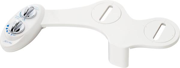 อุปกรณ์เสริมฉีดชำระอัตโนมัติ ไม่ใช้ไฟฟ้า ลักซ์ บิเด รุ่น Neo 120 สีขาว ที่ฉีดก้น ติดสุขภัณฑ์ จากอเมริกา By Luxe Bidet