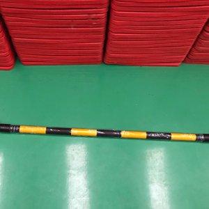ไม้กั้นจราจร สีเหลืองดำ 1 เมตร ยืดหดไม่ได้