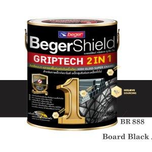 BegerShield Griptech 2in1-BR888 สีดำด้าน