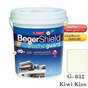เบเยอร์ ชิลด์ G-632 สีน้ำอะคริลิก-กึ่งเงา-5gl.