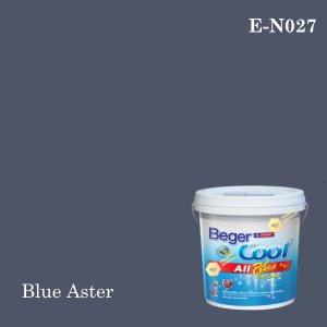 เบเยอร์คูล ออลพลัสสีน้ำอะครีลิก-ภายนอก E-N027 (Blue Aster)