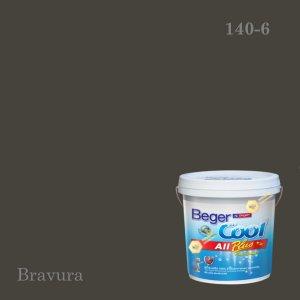 เบเยอร์คูล ออลพลัสสีน้ำอะครีลิก-ภายนอก E-140-6 (Bravura)