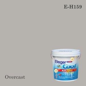 เบเยอร์คูล ออลพลัสสีน้ำอะครีลิก-ภายนอก E-H159 (Overcast)
