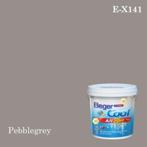 เบเยอร์คูล ออลพลัสสีน้ำอะครีลิก-ภายนอก E-X141 (Pebblegrey)