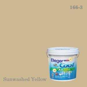 เบเยอร์คูล ออลพลัสสีน้ำอะครีลิก-ภายใน I-166-3 (Sunwashed Yellow)
