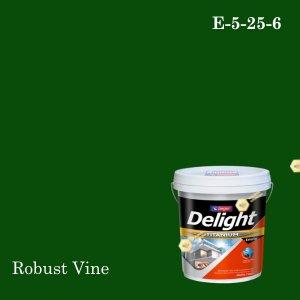 ดีไลท์สีน้ำอะครีลิก ภายนอก E-5-25-6 (Robust Vine)
