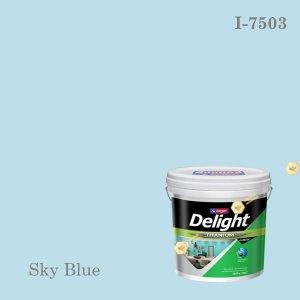 ดีไลท์สีน้ำอะครีลิก ภายใน I-7503 Sky Blue