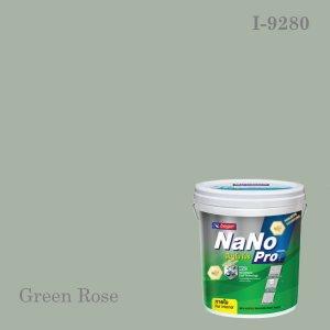 นาโนโปรสีน้ำอะครีลิก I-9280 (Green Rose)