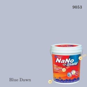 สีน้ำอะครีลิก 9053 นาโนโปร ชิลด์ (Blue Dawn)