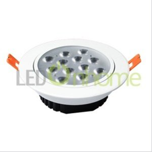 LAMPOไฟฝังฝ้าขนาด 12 วัตต์ MSH3030 ROUND3200K