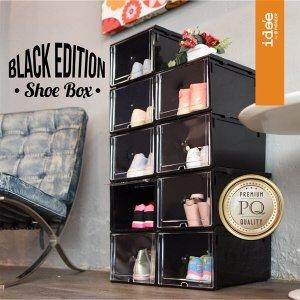 กล่องรองเท้า Ide'e Shoe Box Black Edition ver 3 รุ่น PN3149