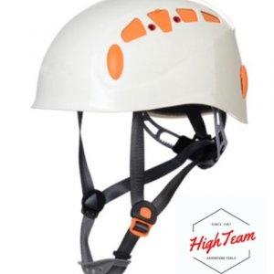 หมวกกันกระแทกสำหรับงานบนที่สูงสีขาว ABS Climbing helmet ABS