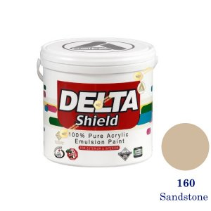 Delta Shield สีน้ำอะครีลิค 160 Sandstone-1gl.
