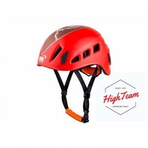 หมวกกันกระแทกสำหรับงานบนที่สูงสีแดง ABS Climbing helmet ABS