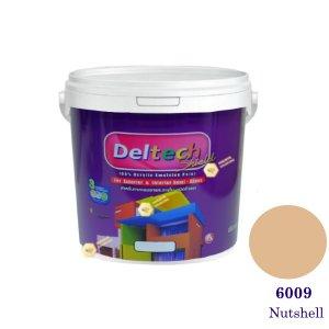 Deltech สีน้ำอะครีลิคกึ่งเงา SG-6009 Nutshell-1gl.