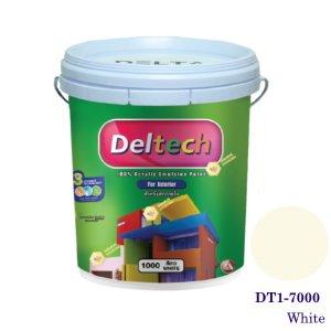 Deltech สีทาฝ้า DT1-7000 White-5gl.