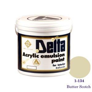 เดลต้า สีน้ำอะครีลิคภายใน 1-134 Butter Scotch 1gl.